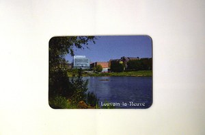 "Magnet ""Lake of Louvain-la-Neuve"""