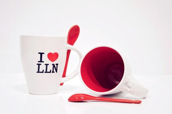 "Mug ""I love LLN"""