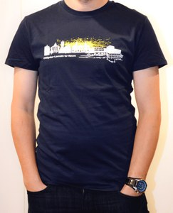 "T-shirt ""Skyline"" for men"