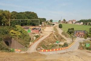 Avenue Demolder : travaux ferroviaires