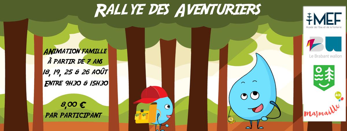 Août 2021   Animation famille Rallye des Aventuriers [Bandeau]
