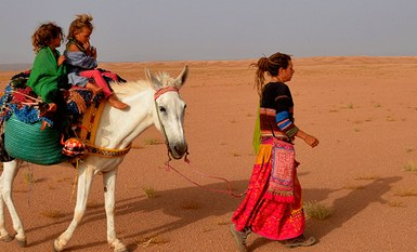 Exploration du Monde : Maman, c'est encore loin le désert