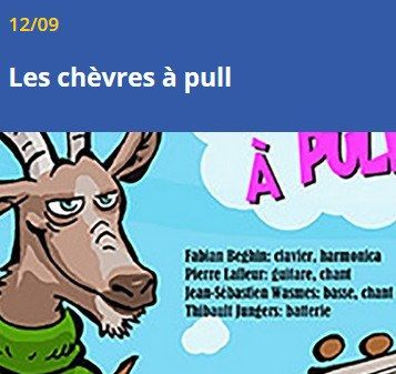 chevres a pull