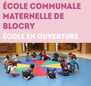 Ecole communale maternelle de Blocry