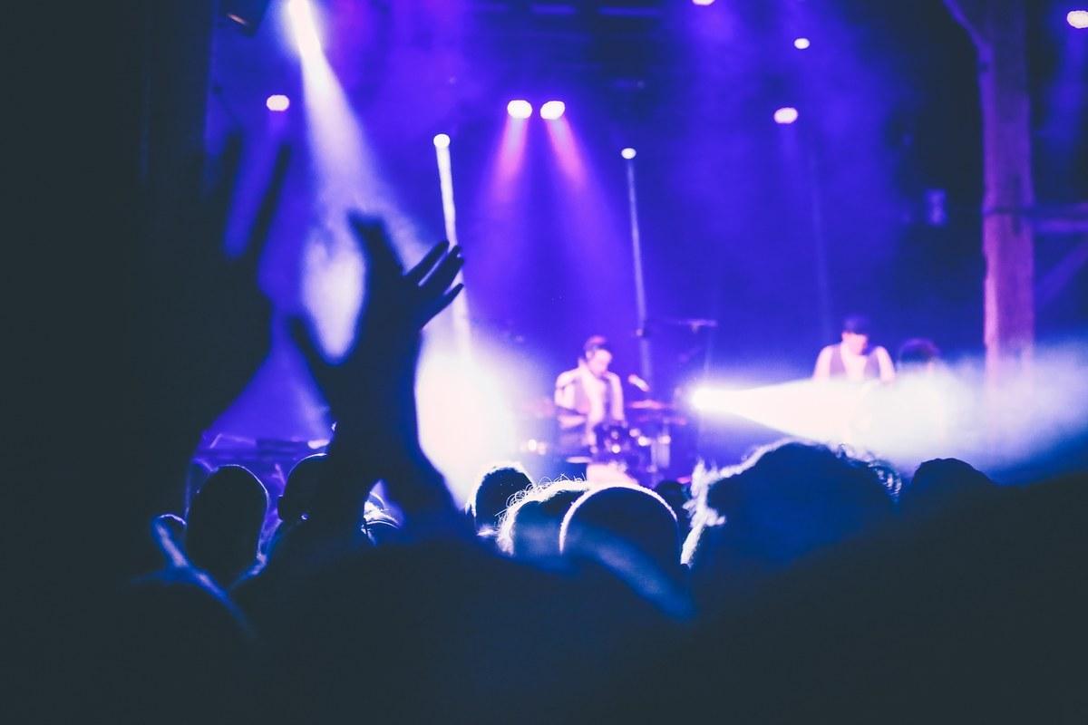 Ambiance d'un concert à la Ferme du Biéreau