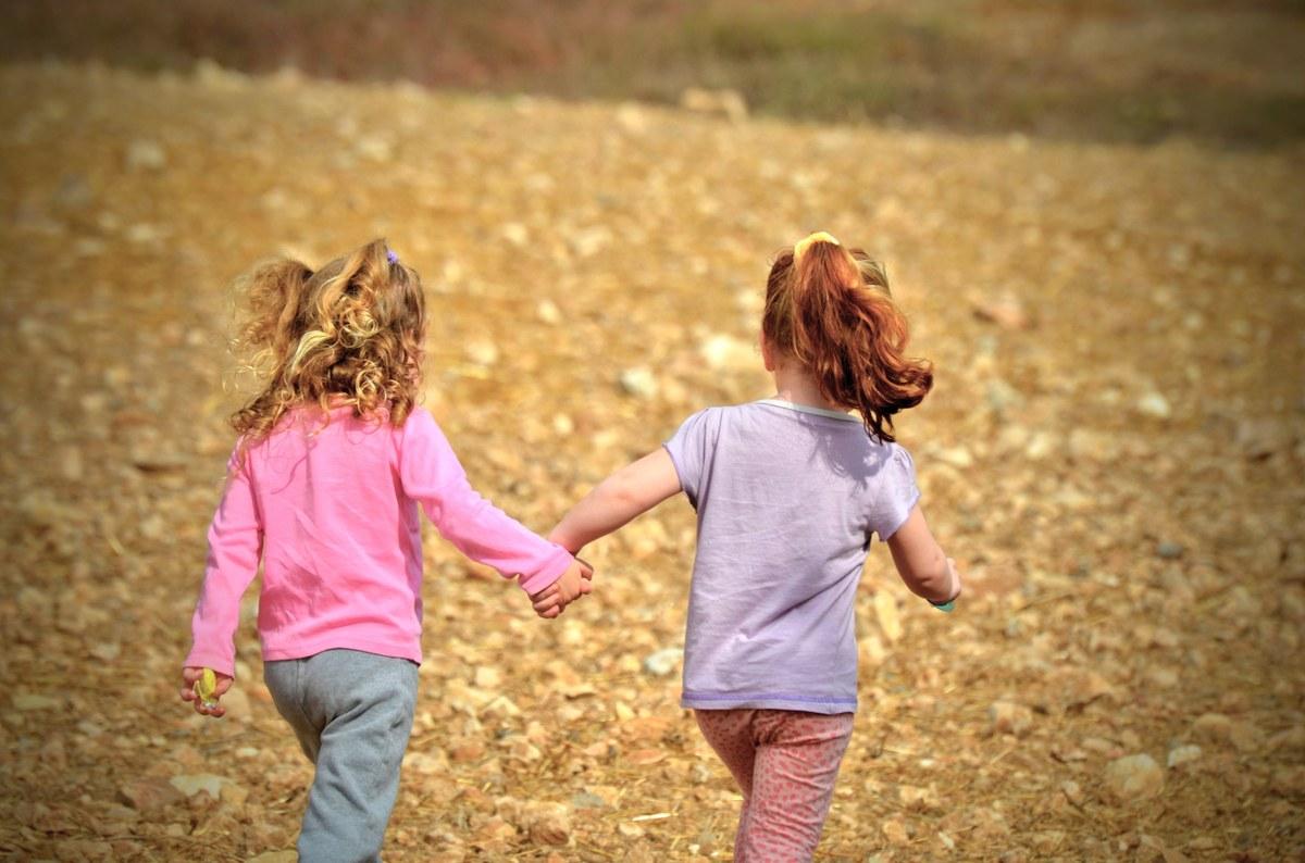 Enfants en promenade