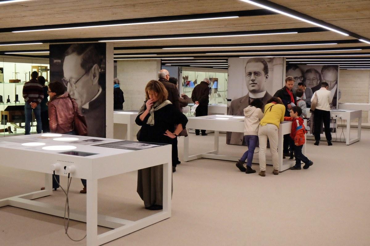 Musée L - étage sciences