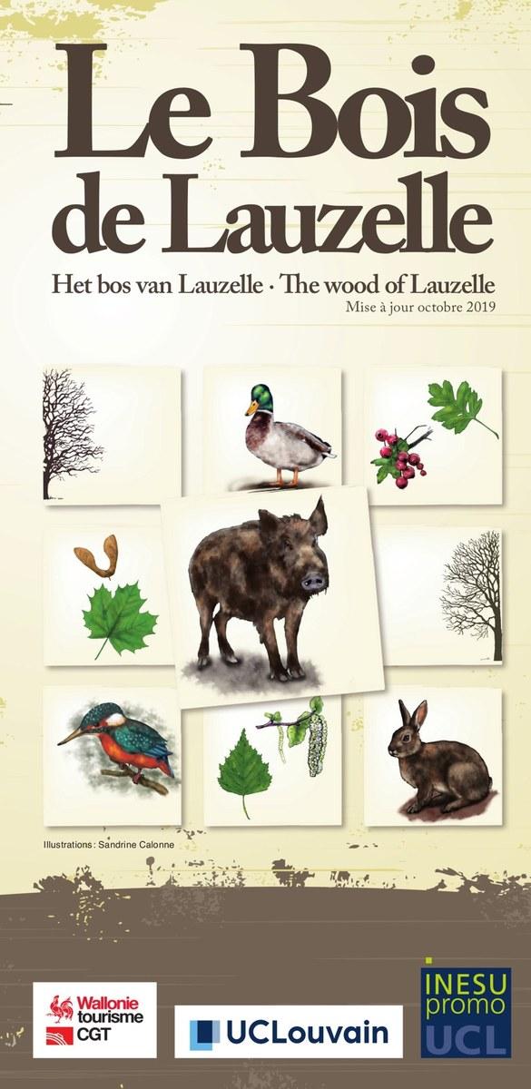 Cover Brochure Bois de Lauzelle 2019