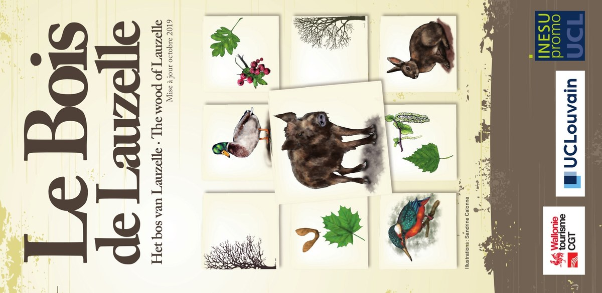 Cover Brochure Bois de Lauzelle