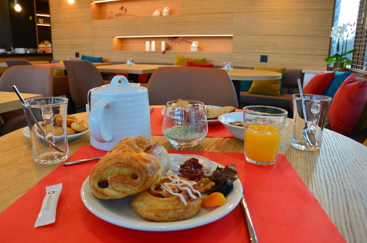 B-Lodge - petit-déjeuner