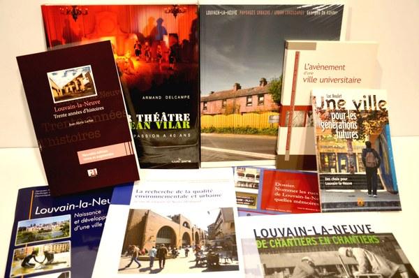 Livres sur Louvain-la-Neuve