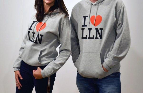 """Sweat-shirt """"I love LLN"""""""