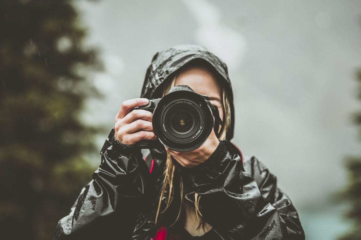 Appareil photo sous la pluie