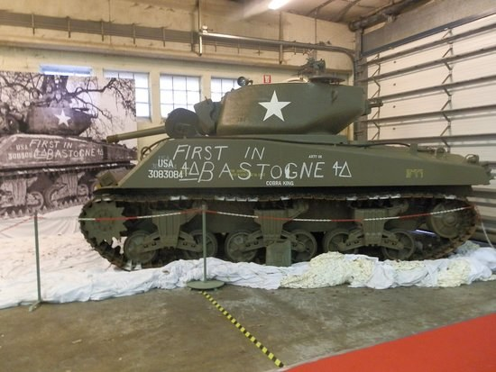 1er char a bastogne reconstitu