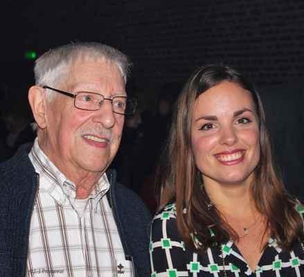 Raoul Cauvin et sa filleule