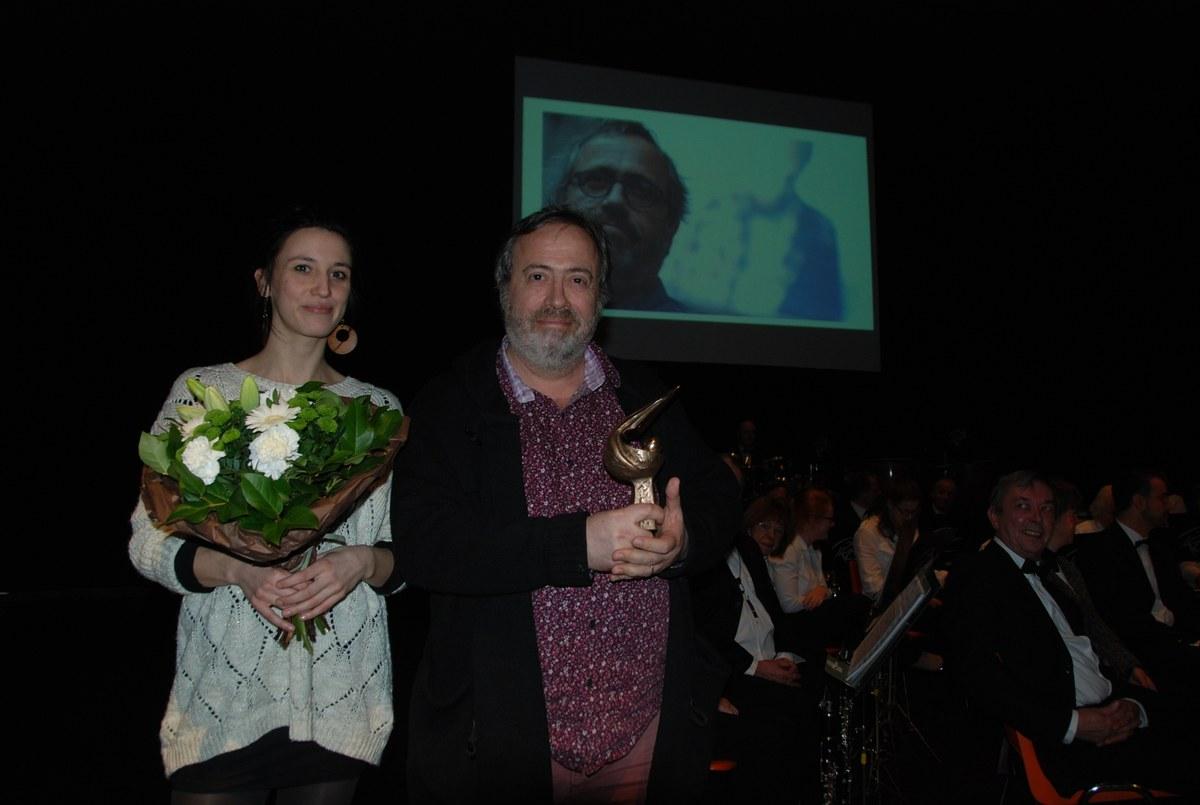 Jaco Van Dormael avec sa filleule